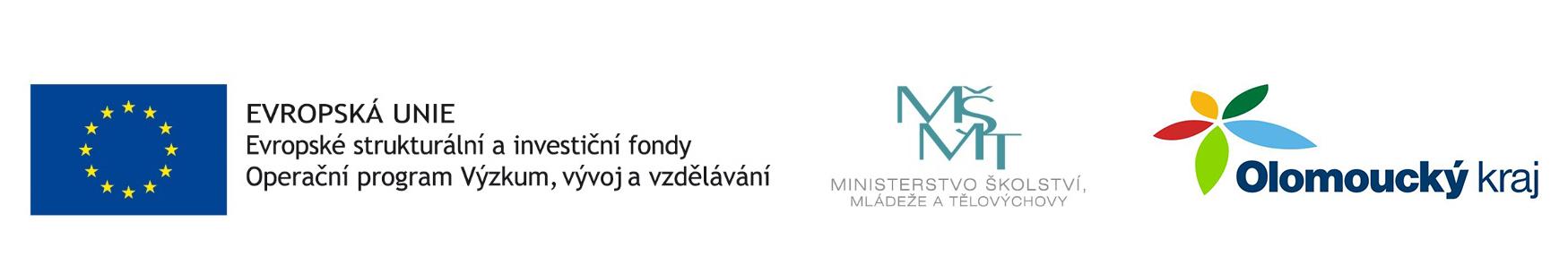 Evropské strukturální a investiční fondy, Ministerstvo Školství mládeže a tělovýchovy, Olomoucký kraj